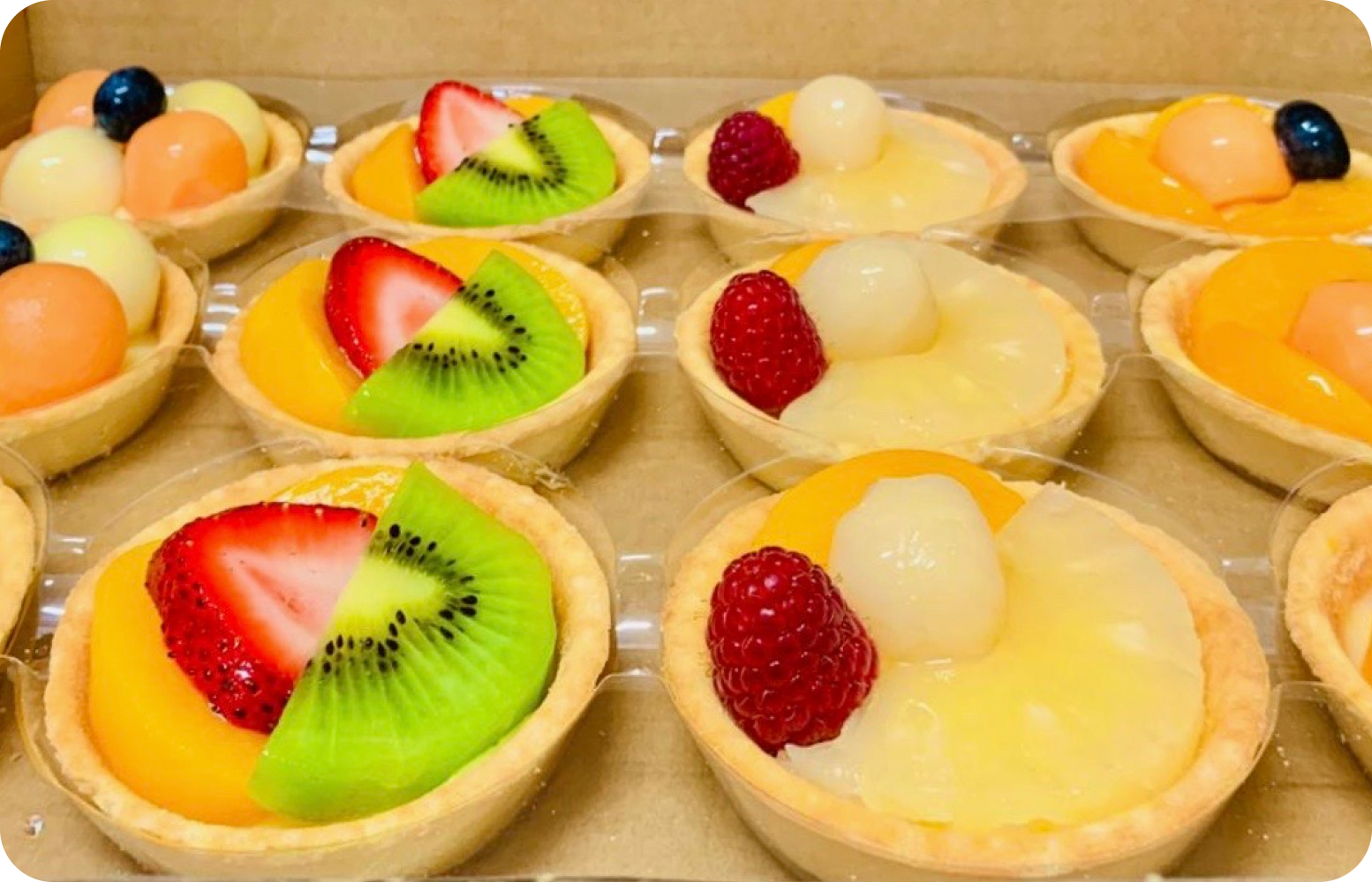 Large Fruit Tart 1