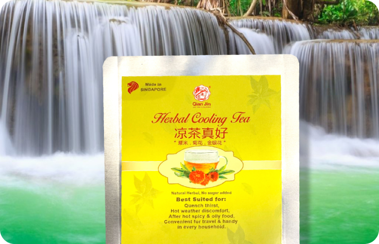 Qian Jin Herbal Cooling Tea 1